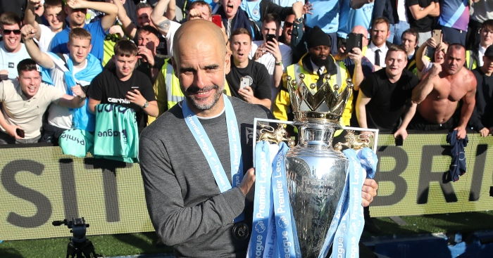 pep trophy - Seven records set by Manchester City and Liverpool in the 2018-19 season