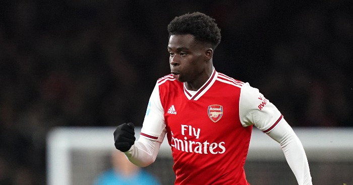 Comparing Bukayo Saka with the other 8 younger Arsenal debutants from the PL era