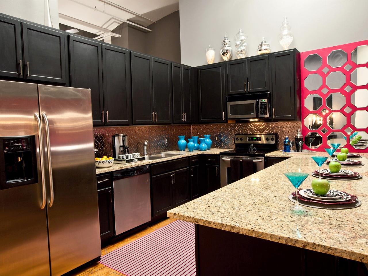 6 Decorating Ideas for Above Kitchen Cabinets - Reliable ... on Kitchen Decoration Ideas  id=19780