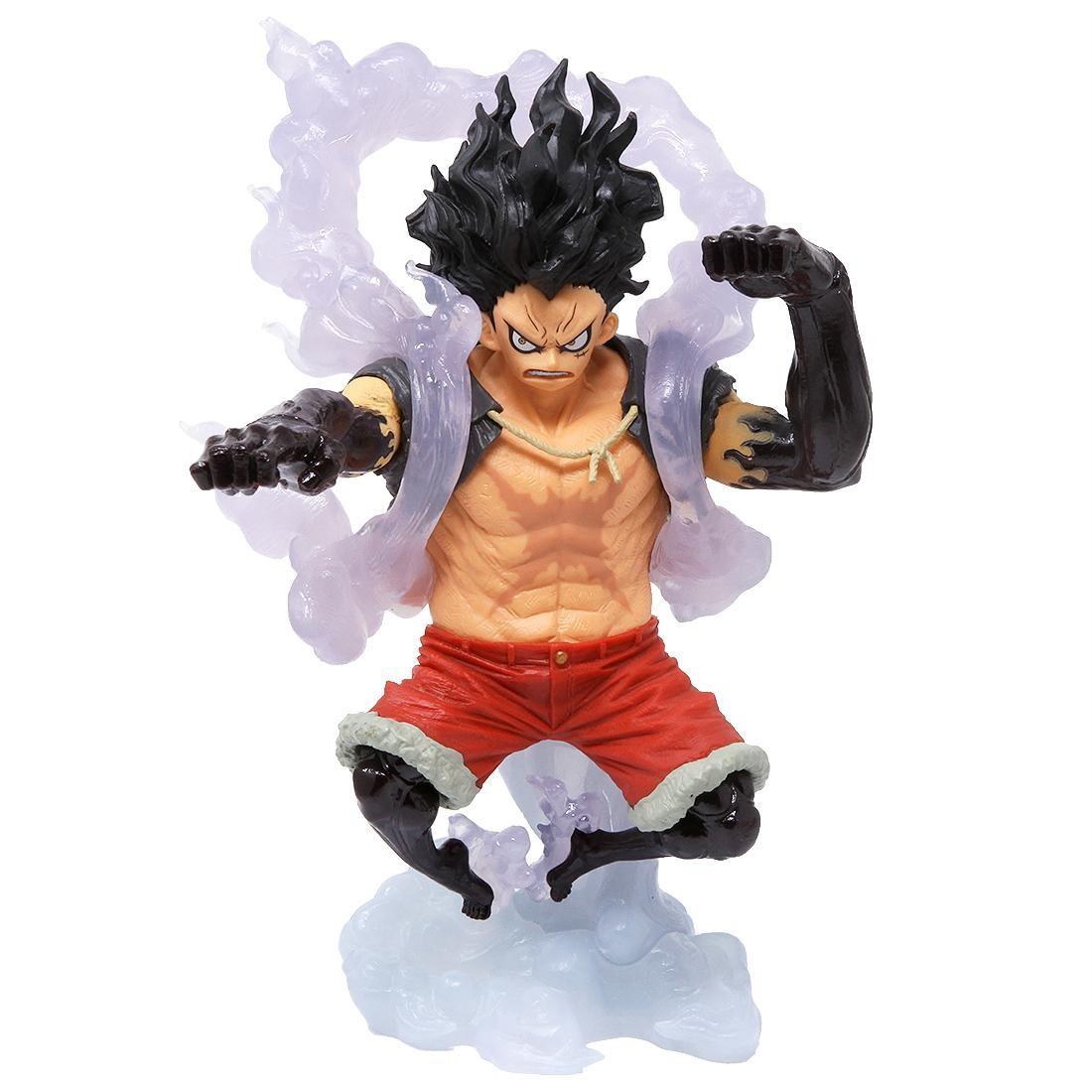Luffy gear4 snakeman hd wallpaper background image. Banpresto One Piece King Of Artist Monkey D Luffy The Snakeman Figure White