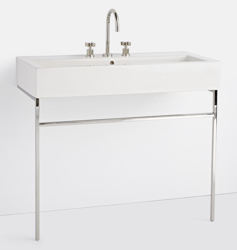 winslow 8 widespread single trough vanity