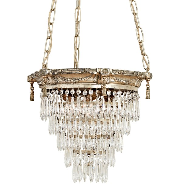 crystal chandelier tiered # 14