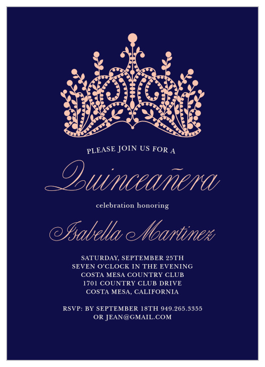 quinceanera invitations match your
