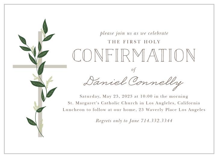 confirmation invitations 15 off