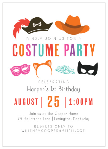 Start your halloween party off the proper way with these 13 sophisticated (and spooky) invitation. Halloween Children S Birthday Party Invitations Match Your Color Style Free