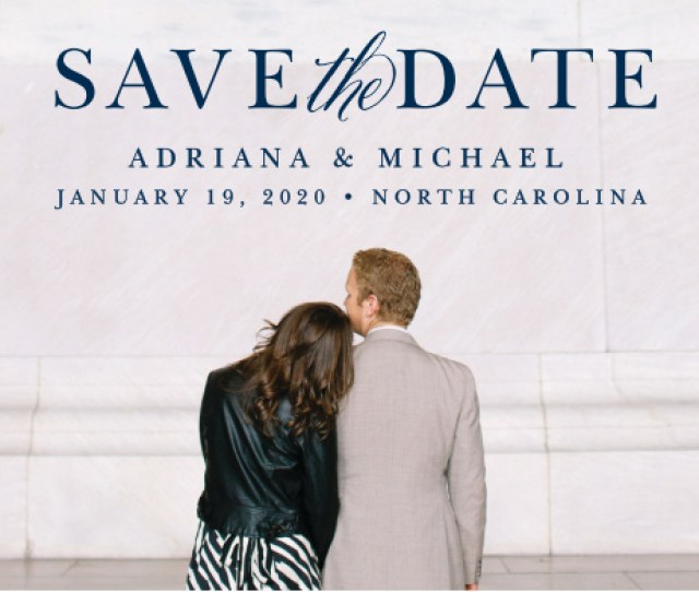 Royal Scrolls Save The Date Magnets
