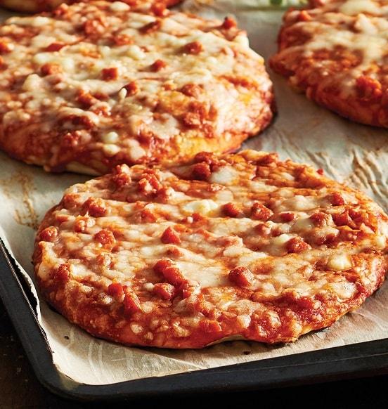 m m food market mini personal pizzas