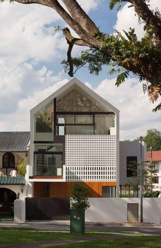 rumah minimalis industrial