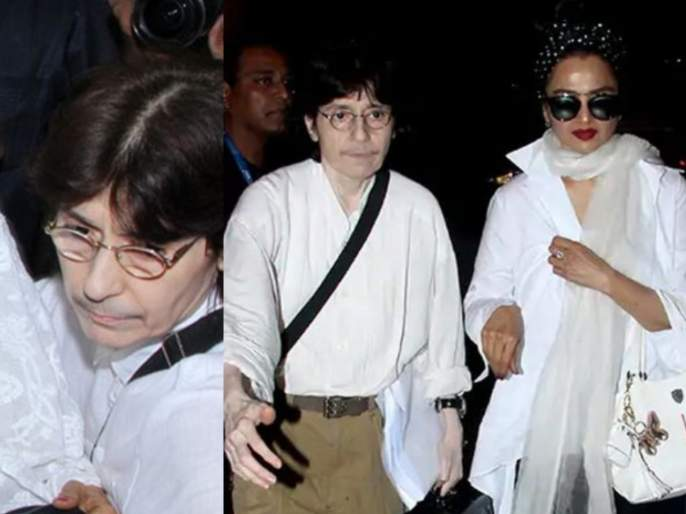 What's the secret behind Rekha's mysterious relationship with her female  secretary Farzana   english.lokmat.com
