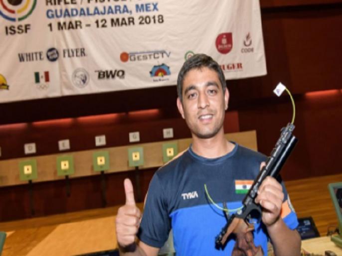 issf world cup Shahzar rizvi wins silver medal opens indias account | शूटिंग: ISSF वर्ल्ड कप में रिजवी ने जीता सिल्वर, भारत का खाता खुला