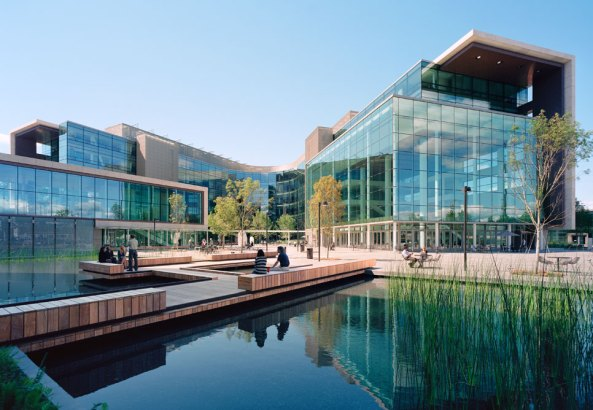 Gates Foundation Seattle office space
