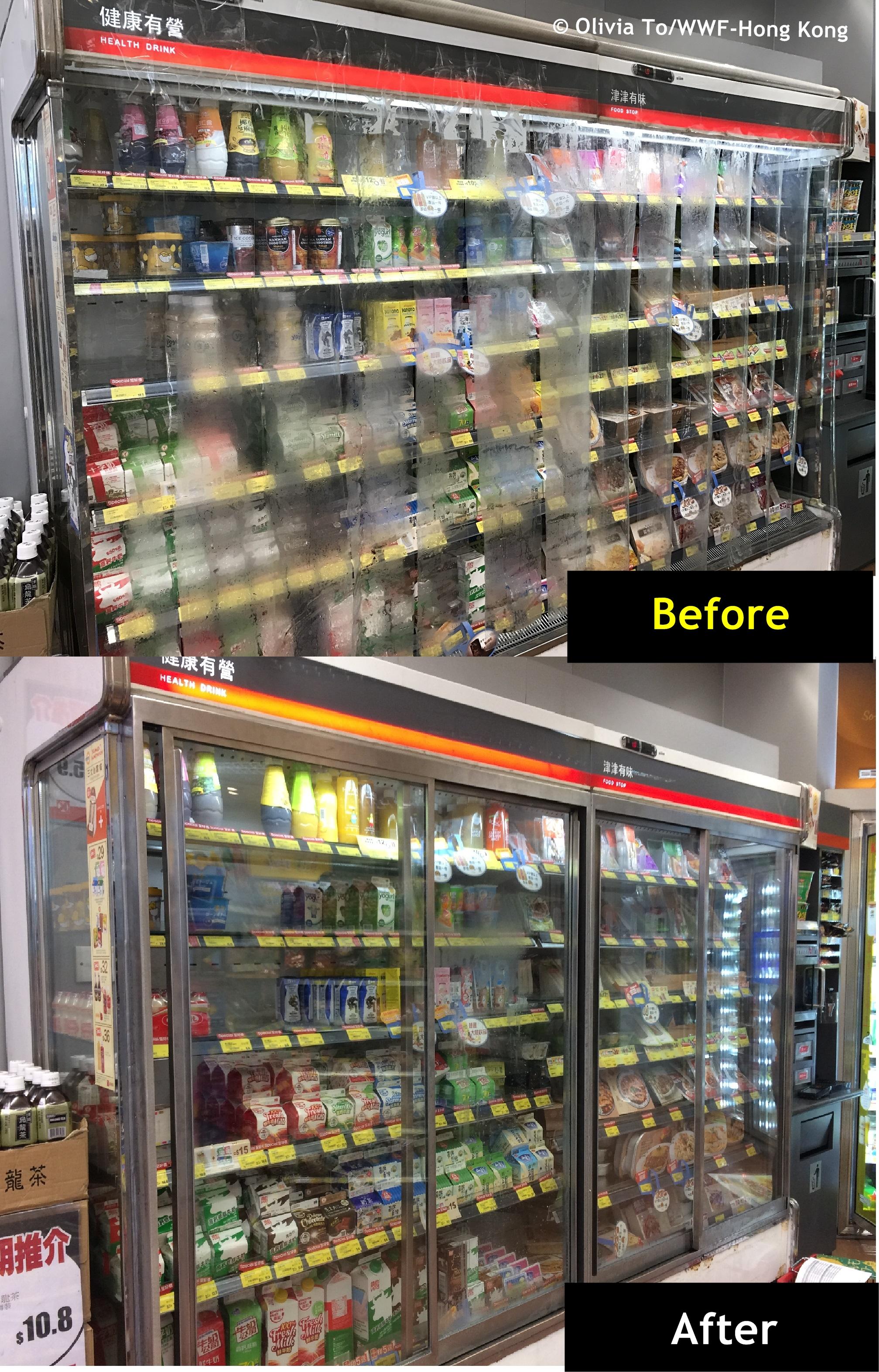 WWF發表香港首份商用雪櫃能源報告 促請商戶淘汰無門雪櫃 政府擴大能源效益標籤 | WWF Hong Kong