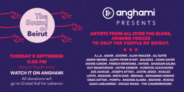 """""""The Sound of Beirut"""" fundraiser on Anghami"""