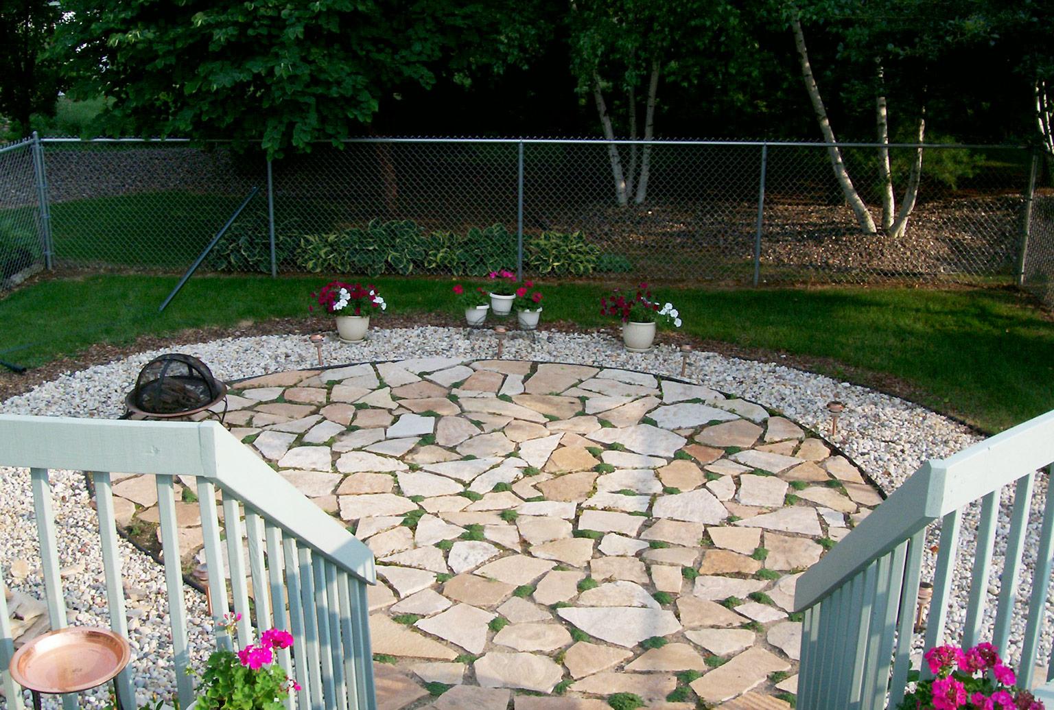 How to Build a Flagstone Patio | Blain's Farm & Fleet Blog on Flagstone Backyard Patio id=72837