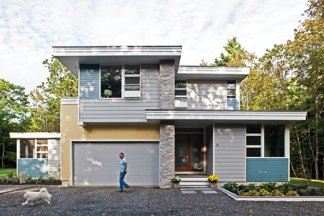 Midcentury Modern - Maine Home + Design on Modern House Siding  id=75083