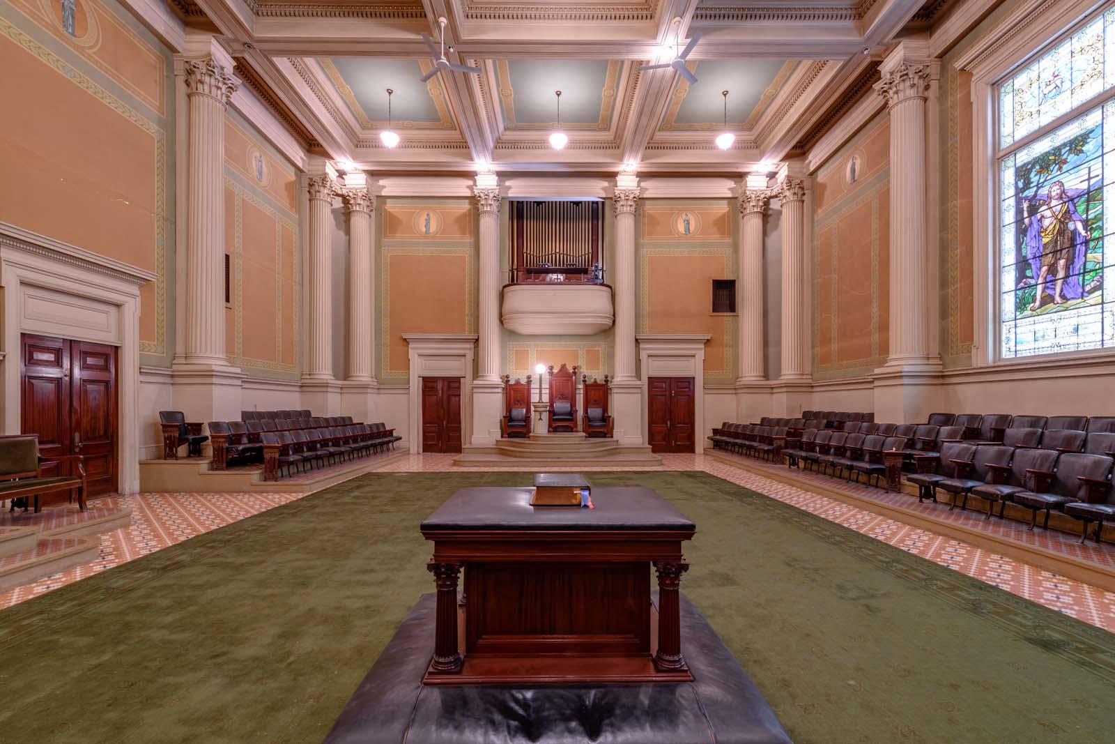 Portland S Masonic Temple Maine Home Design