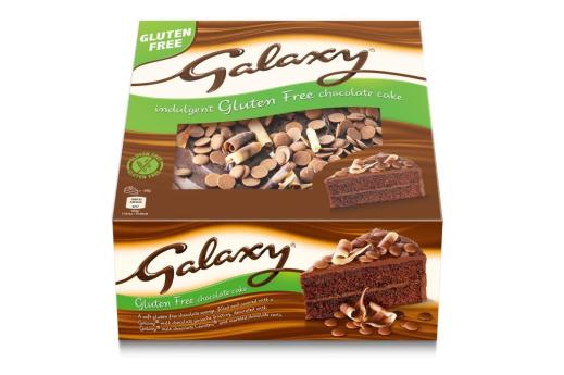Mars launches gluten-free Galaxy celebration cake | News | British Baker