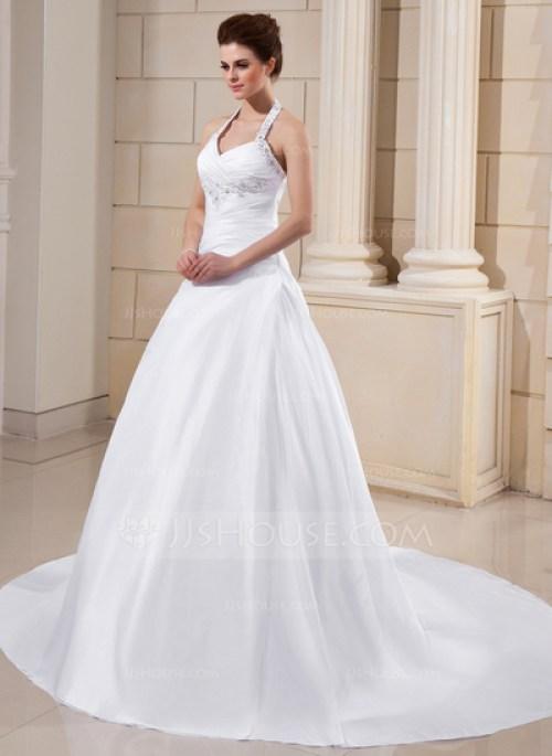 Belle robe de mariée dos nu