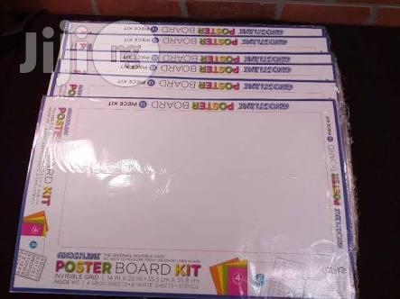 ghodtline poster board 13 piece kit