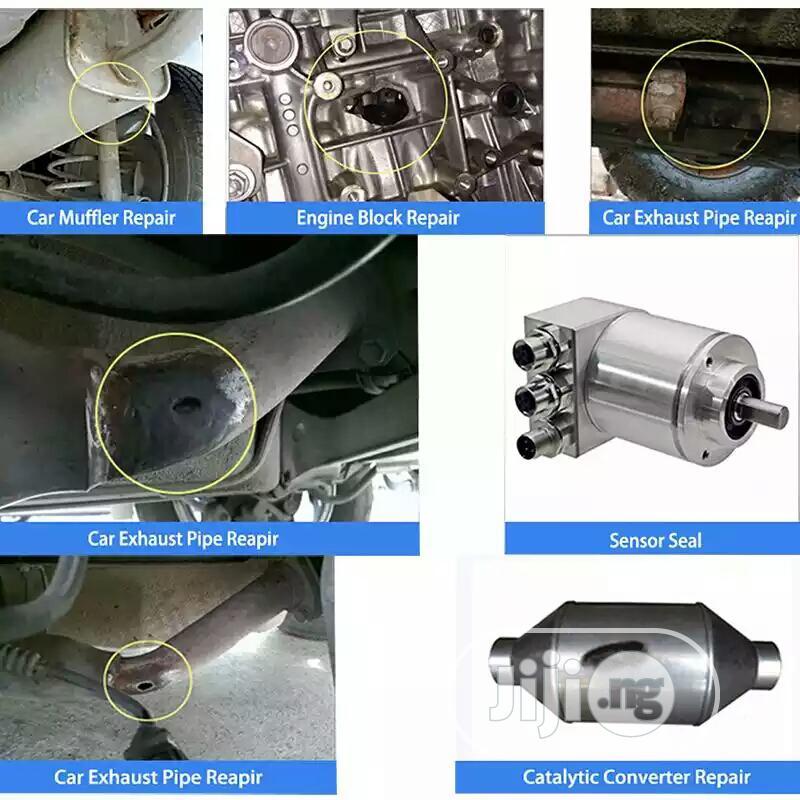 exhaust pipe repair kit high temperature cement adhesive sealant