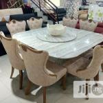 Archive Italian Marble Dining With Eight Chairs In Lagos Island Eko Furniture Concept Kelvin Jiji Ng