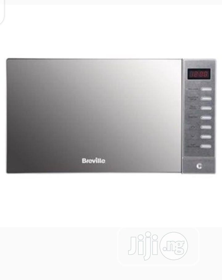 breville silver solo microwave 20l
