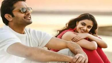 """Review of the movie Rang De: Nitin, Keerthisuresh who made noise with strange behavior … How is the movie """"Rang De"""" .."""
