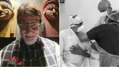 Bollywood superstar Amitabh Bachchan has been vaccinated by Covid … I'm fine now … Big B's tweet …
