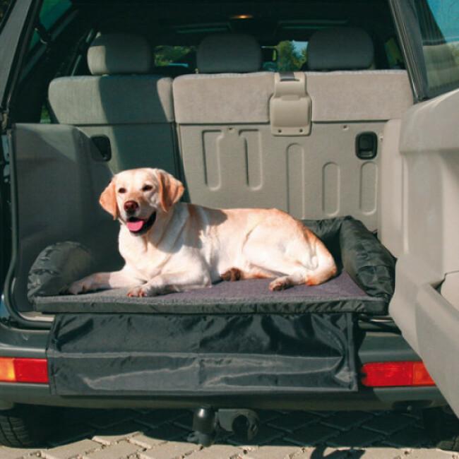 lit pour coffre de voiture trixie pour chien