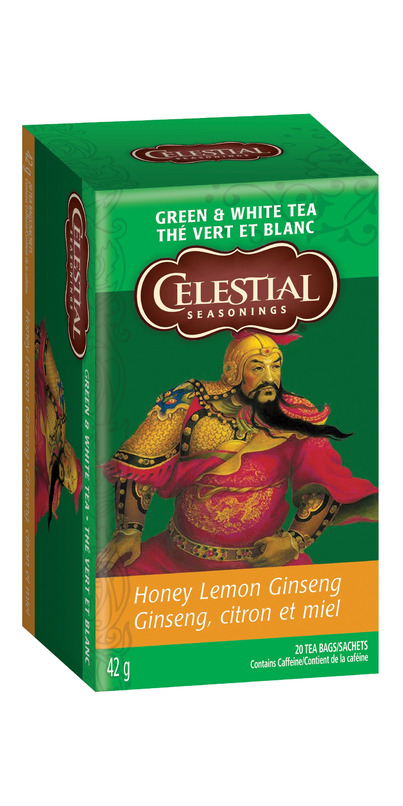Buy Celestial Seasonings Honey Lemon Ginseng Green White