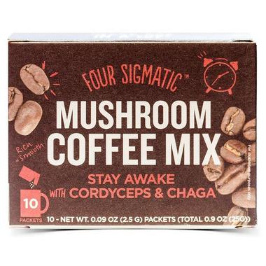 Four Sigmatic Mushroom Coffee Mix with Cordyceps And Chaga