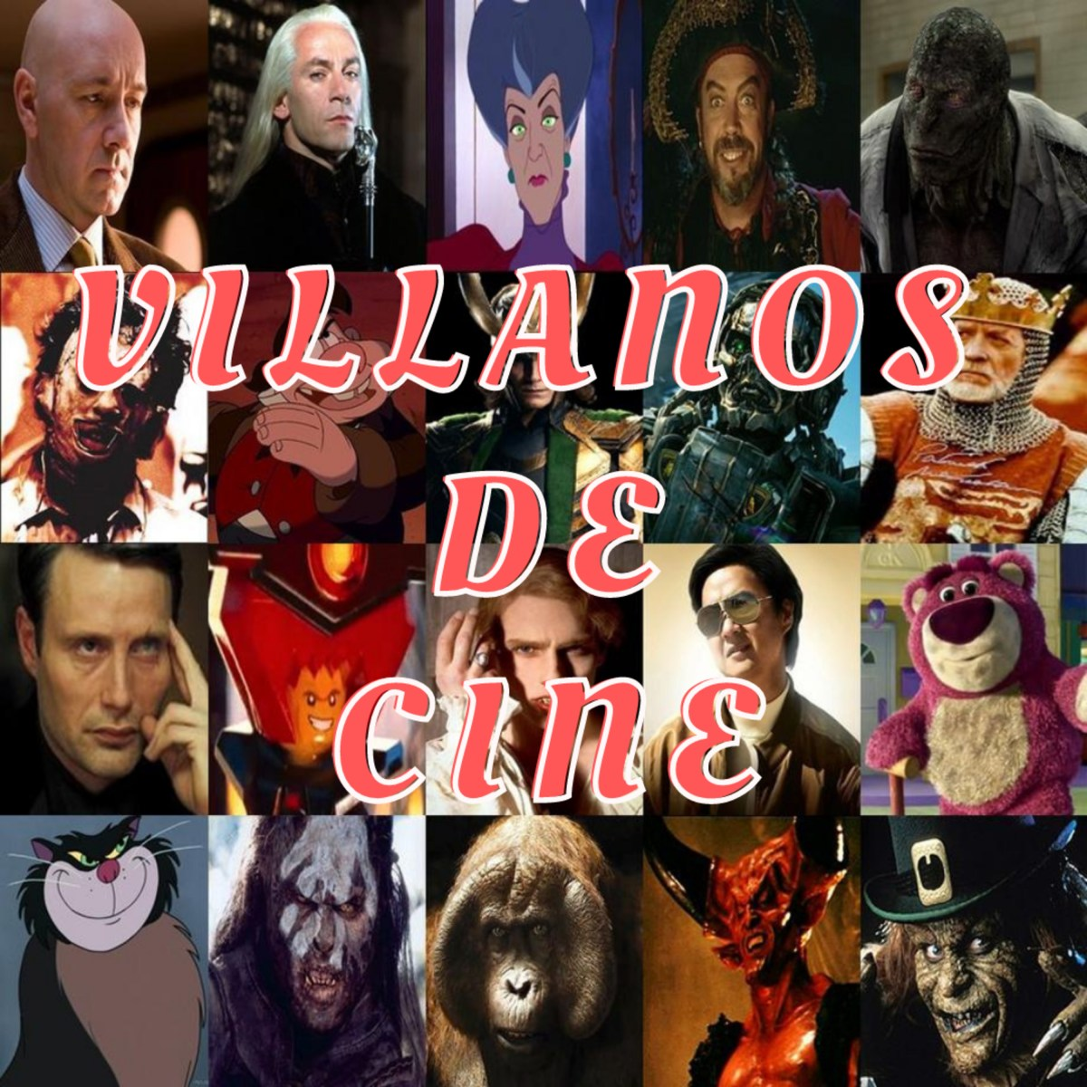 26. Villanos de cine