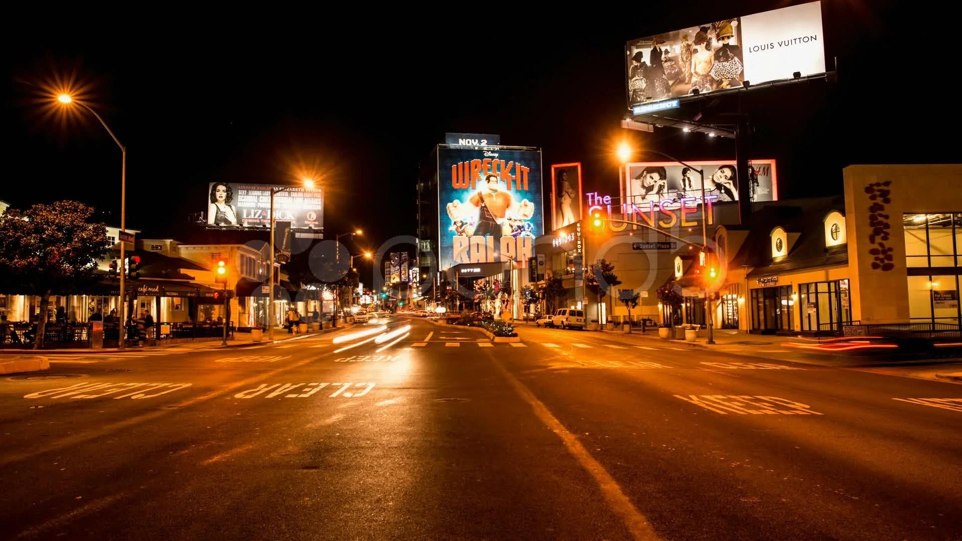 Urban Lights Los Angeles