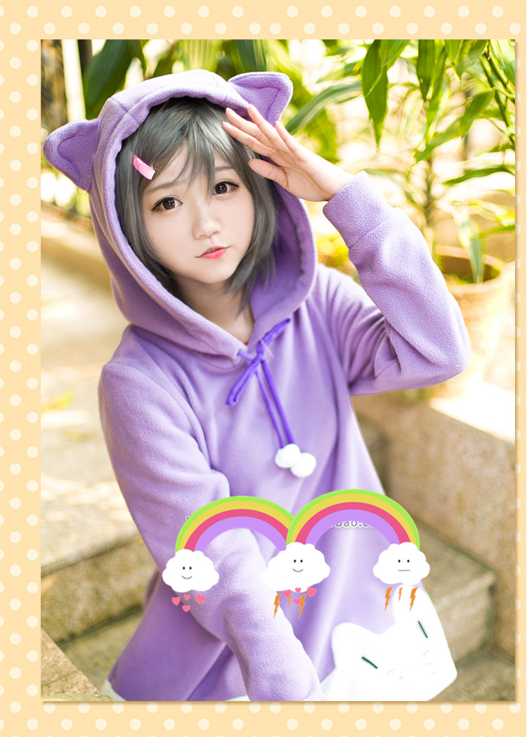 Whether you have a fur baby you adore, are thinking of getting one, or are just an animal lover, this is the place for you. Kawaii cute cat ears hoodie · Harajuku fashion · Online ...