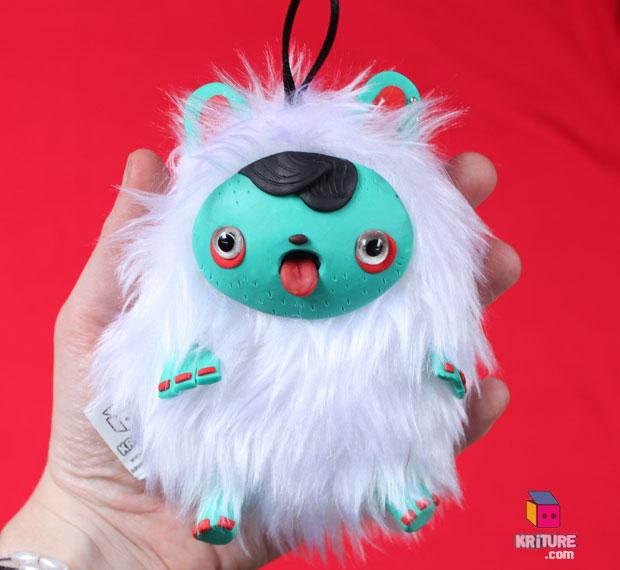 Hipster Yeti plush by Kriture