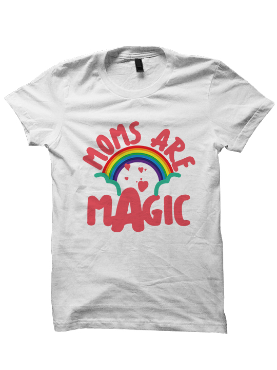 MOTHERS DAY GIFTS MOMS ARE MAGIC T-SHIRT GIFTS FOR MOM ...