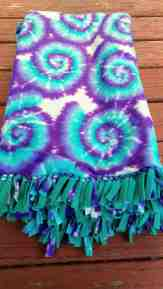 No Sew Fleece Blankets Weekend Warrior Shopkins Simpsons Blue Star Wars Purple Tie Dye Creativecrafters Online Store Powered By Storenvy