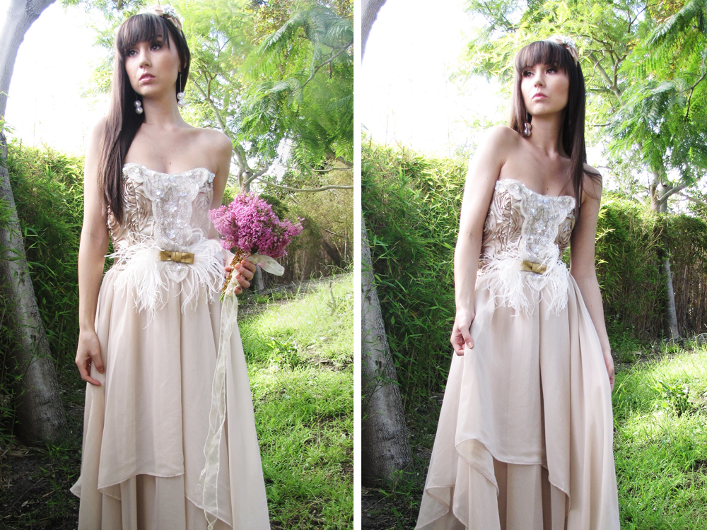 ECO-Country Chic Couture Whimsical Wedding Dress On Storenvy
