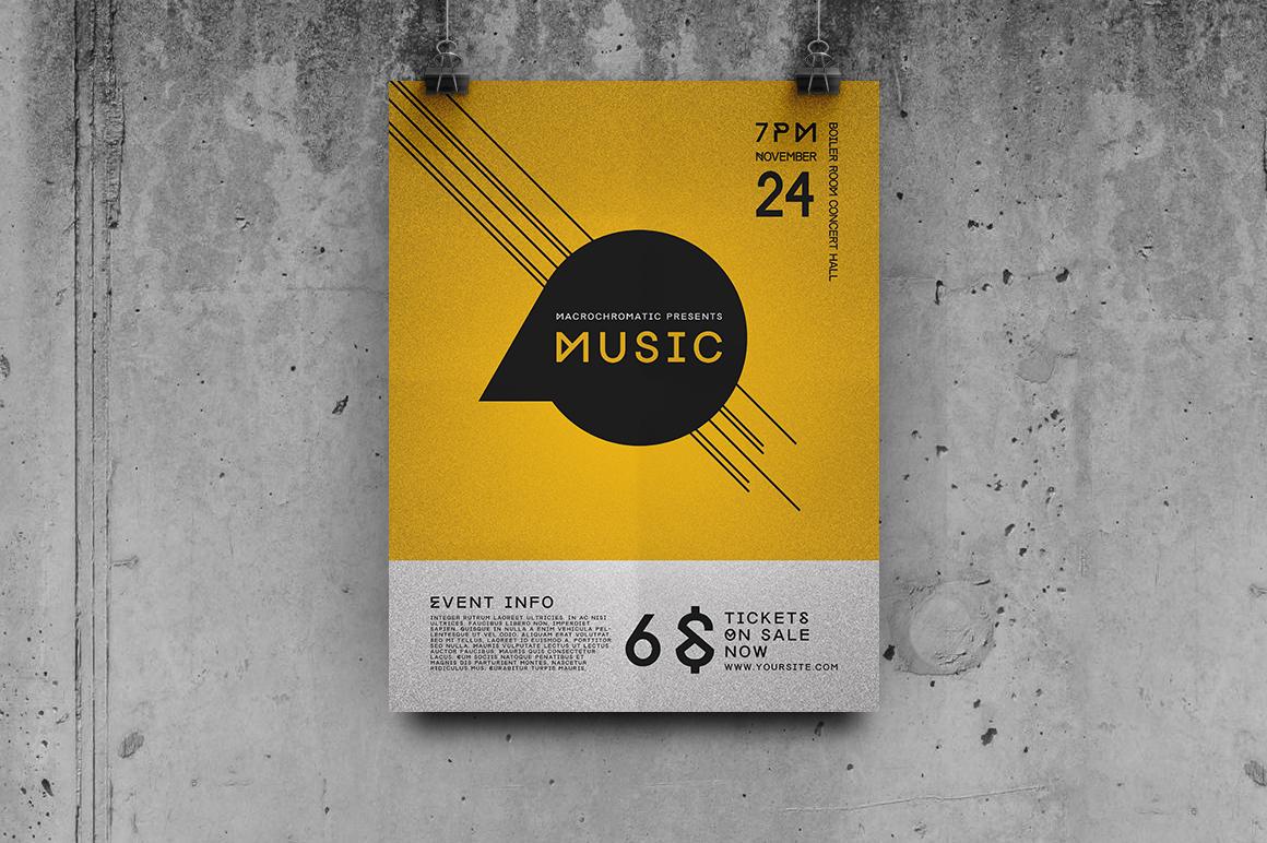 Concert Flyer Template Flyer Templates On Creative Market