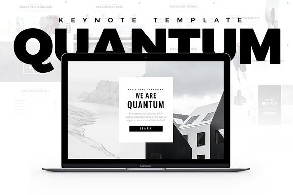 Quantum Minimal Keynote Template