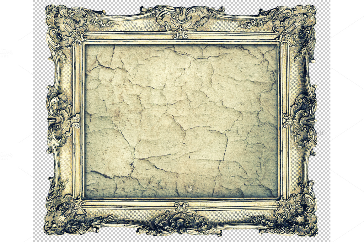 Baroque Picture Frame ~ Objects on Creative Market
