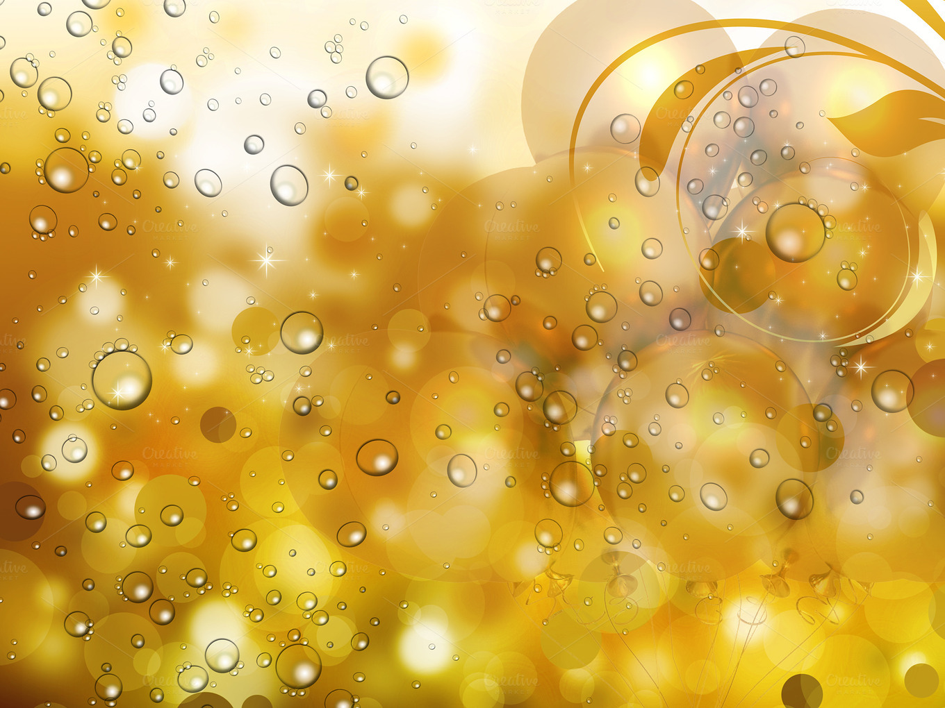 golden abstract background Abstract Photos on Creative
