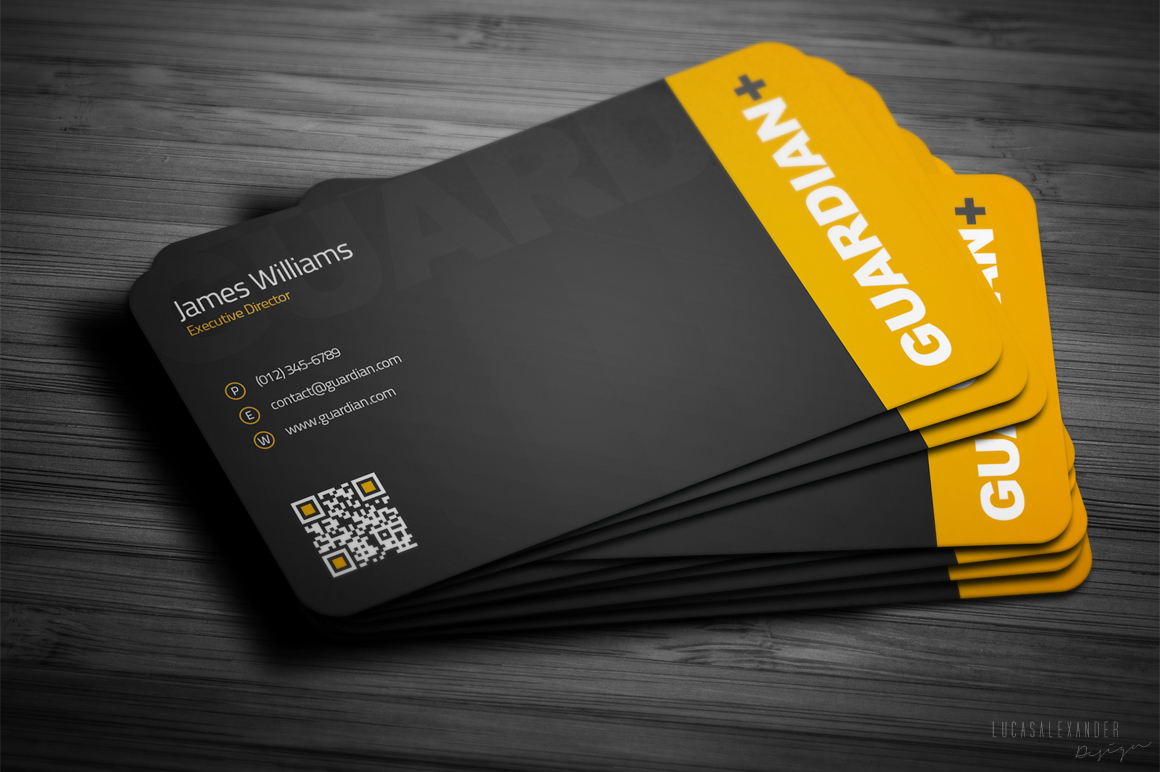 Safety Business Card Business Card Templates On Creative Market