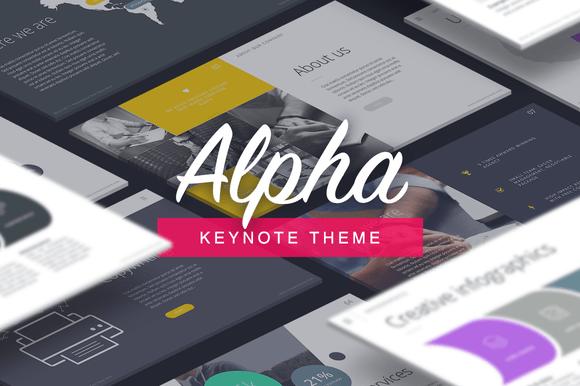 Alpha - Keynote Template