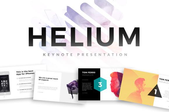 Helium Keynote Template