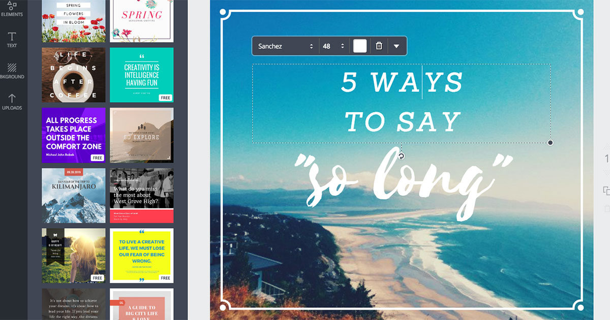 Canva Adobe Spark And 29 Other Apps That Let You Design
