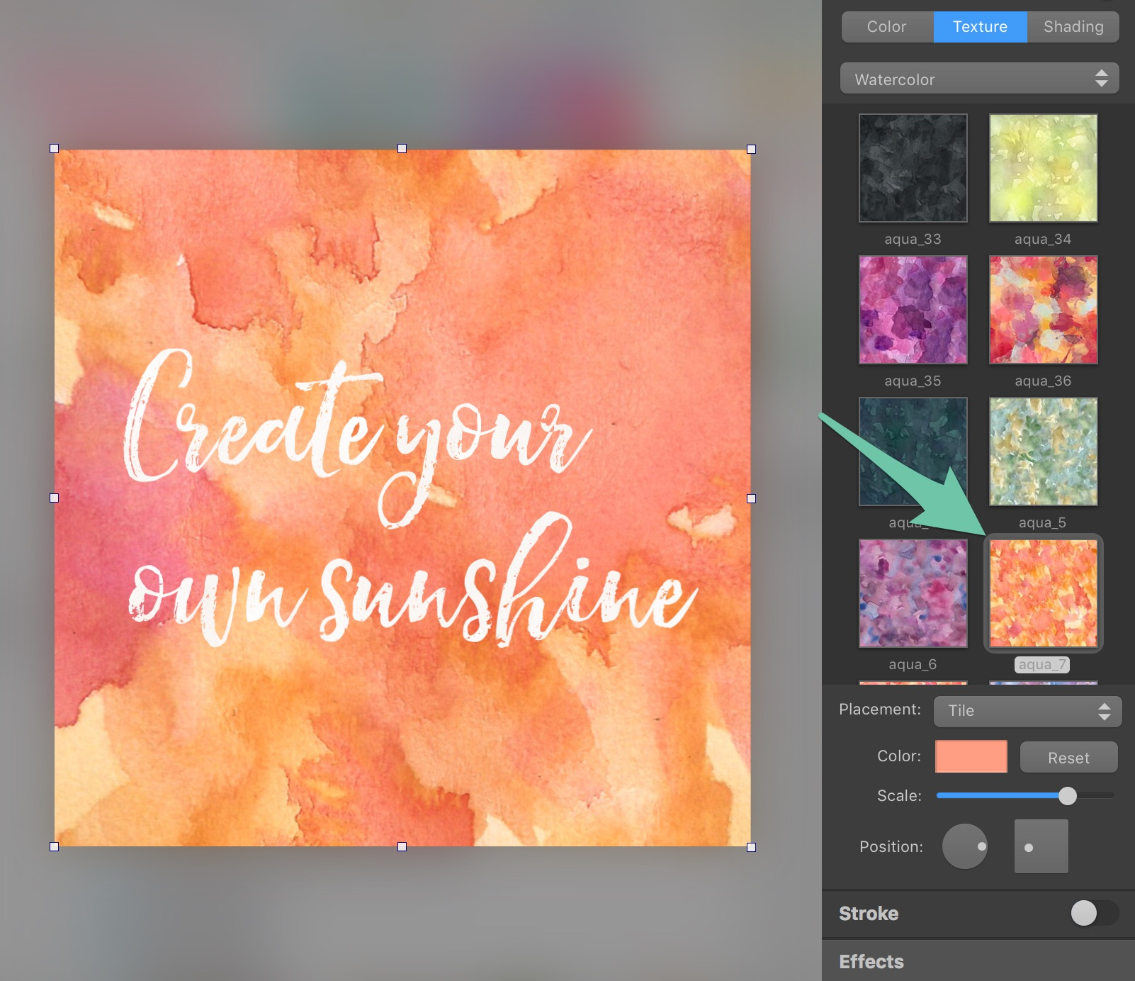 How To Create Watercolor Social Media Graphics