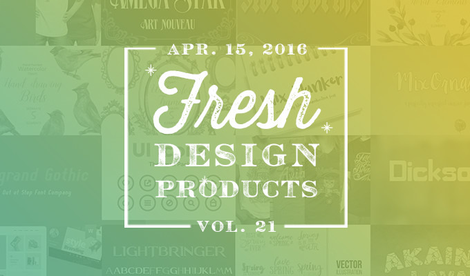 I Try DIY | Creative Market: This Week's Fresh Design Products
