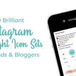 20 Brilliant Instagram Highlight Icon Sets For Brands Bloggers Creative Market Blog