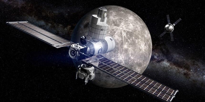 Estados Unidos y Rusia planean la construcción de una estación espacial en la órbita de la Luna. (Foto Prensa Libre: Boeing)